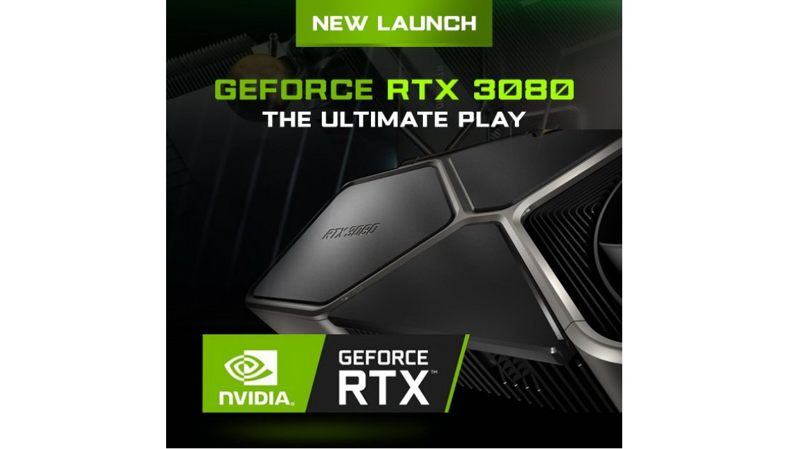 Preorder your RTX 3080 GPU now, Hurry!