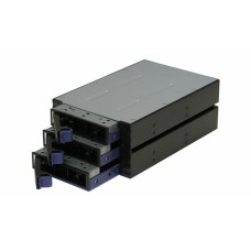 TGC Chassis Accessory SATA Hot Swap Drive Way 2x 5.25' Drive Bay to 3x 3.5' Hot Swap Bays.