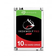 Seagate 10TB 3.5' IronWolf Pro NAS  SATA3 NAS 24x7 Performance, 7200 RPM, 256MB Cache HDD (ST10000NE0008)