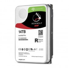 Seagate 14TB 3.5' IronWolf PRO SATA3 NAS 24x7 Performance 7200 RPM 256MB Cache HDD. (ST14000NE0008) 5 Years Warranty