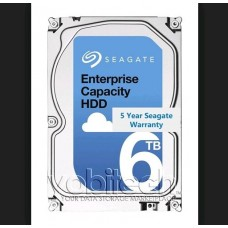 Seagate 6TB 3.5' SAS EXOS Enterprise Capacity 512E Internal HDD, 12Gb/s, 7200RPM, 5YR WTY (LS) HAS-EX6TB512E7235