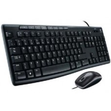 Logitech MK200 Media Keyboard and Mouse Combo 1000dpi USB 2.0 Full-size Keyboard Thin profile Instant access to applications