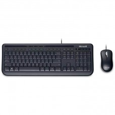 Microsoft Wired Desktop 600 K&M USB Black Mouse & Keyboard Combo - Spill Resistant,  Retail Pack