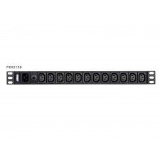 Aten 12-Port 15A Power Distriubiton Unit - Basic PDU, 1U Rackmount Design 12x C13, Overload protection