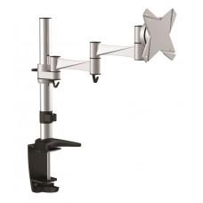 Astrotek Monitor Stand Desk Mount 43cm Arm for Single LCD Display 21.5' 22' 23.6' 24' 27' 8kg 15° tilt 180° swivel 360° rotate VESA 75x75 100x100