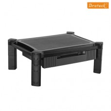 Brateck Height-Adjustable Modular Multi Purpose Smart Stand XL with Drawer for most 13''-32'' Weight Capacity 10kg