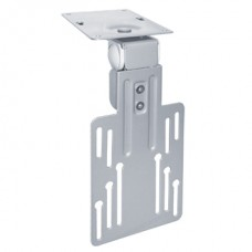 Brateck LCD Under Cabinet Mount Bracket Vesa 50/75/100mm up to 23';For Flat Ceiling, Pitched Roof, Under Cabinet and Corner Installations(LS)