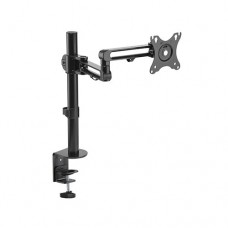 Brateck Articulating Aluminum Single Monitor Arm Fit Most 17'-32' Montior Up to 8kg per screen