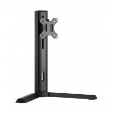 Brateck Single Screen Classic Pro Gaming Monitor Stand Fit Most 17'-32' Monitor Up to 8kg/Screen--Black Color