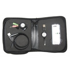 Leader MobilityKit for Nbooks USBHub, Ear&Mic, Light, USBext, free bundle with Leader brand notebook, one piece one kit.